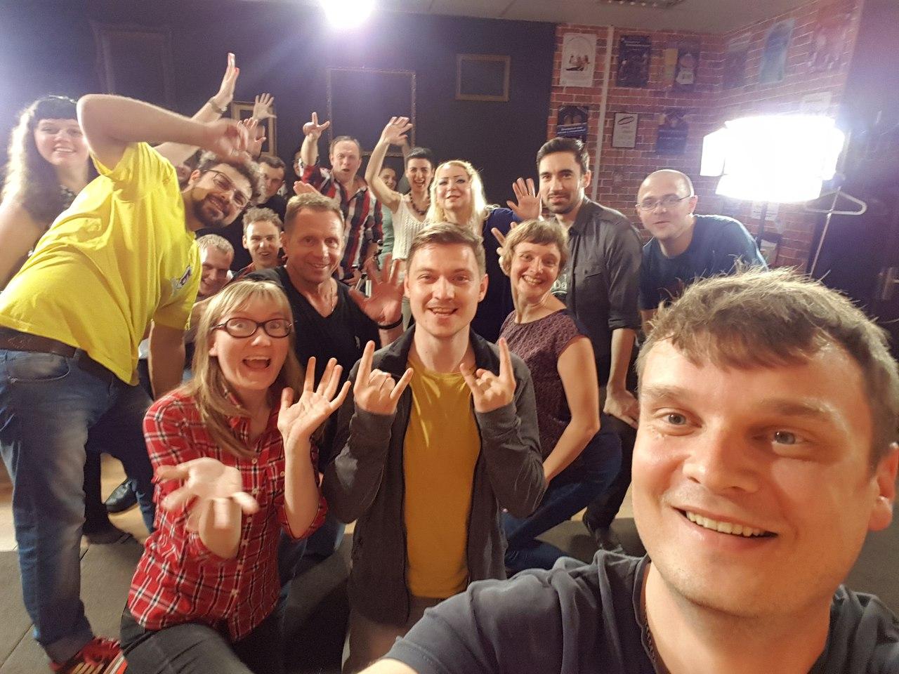 Афиша Москва Мастер-класс по актёрству и импровизации!