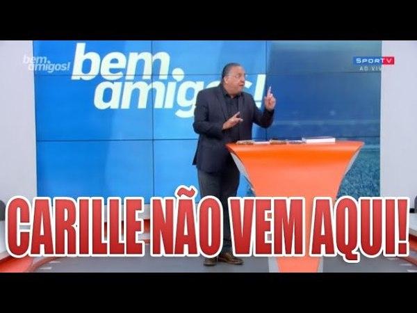 GALVÃO BUENO DETONA E MANDA RECADO PRA CARILLE - BEM AMIGOS 26-02