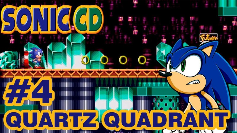 Sonic the Hedgehog CD ► Quartz Quadrant 4