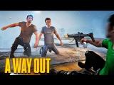 TheWarpath ФИНАЛ! ВСЕ СКРЫТЫЕ КОНЦОВКИ И НЕОЖИДАННЫЙ ВЫБОР - БРАТ ЗА БРАТА В A Way Out #7