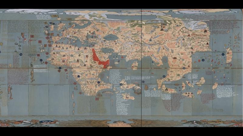 Карта Земли в Фильме Бандитский Петербург