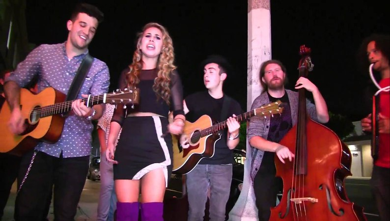 The Way You Make Me Feel Haley Reinhart Casey Abrams Mark Ballas Dylan Chambers Quinton Zigler