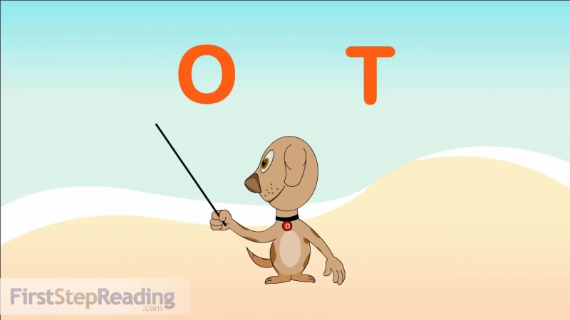 Two Word Blending Letter O ¦ Learn to Read, Beginning Reader, Pre-Reader Phonics Lesson
