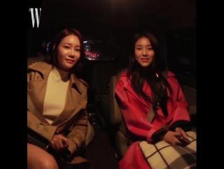 171020 Yuna & Hyejeong  in W Korea Official Instagram @wkorea