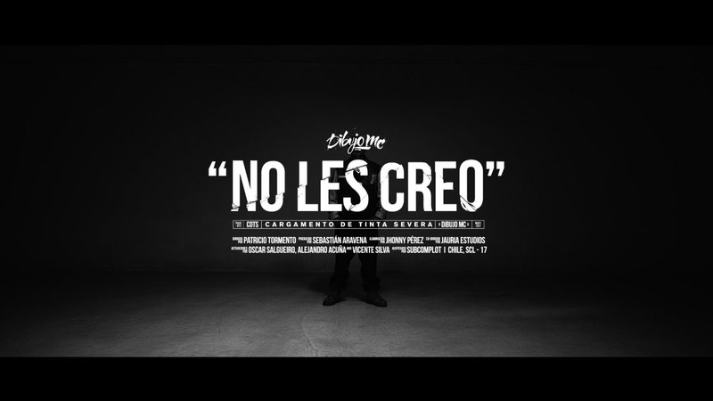 Dibujo Mc - No les creo (vídeo oficial)