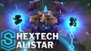 Hextech Alistar Skin Spotlight - League of Legends