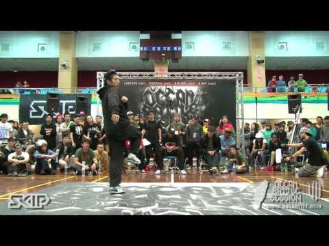 Hip-Hop Best16-8 Brian vs Dedson Killa   20130303 OBS VOL.7 TAIWAN FINAL