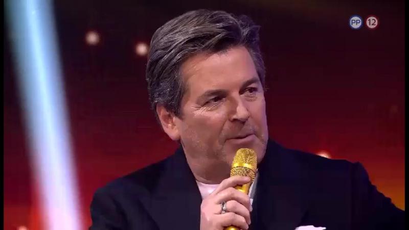 Thomas Anders v pořadu Chart Show, TV Televízia Markíza, 10.01.2018
