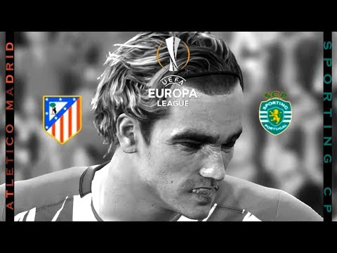 Atletico Madrid vs Sporting CP | Griezmann's Goal | UEFA Europa league | PES 2017 HD