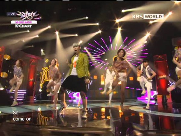 Jo Kwon(2AM) - I'm Da One on Music Bank K-Chart 120629