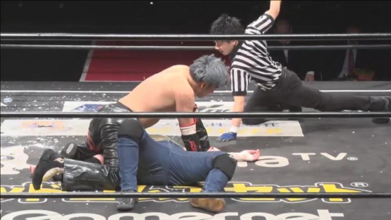 DT-YUTA vs. Isami Kodaka (DDT - Video Team Produce BetaMania)