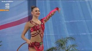 Aleksandra Soldatova hoop EF 2018 Sofia World Cup