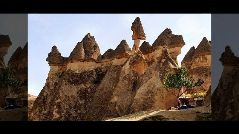 Смотри и думай...История 89. Лунные пейзажи Каппадокии. Турция.The lunar landscapes of Cappadocia.