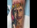 Джокер татуировка