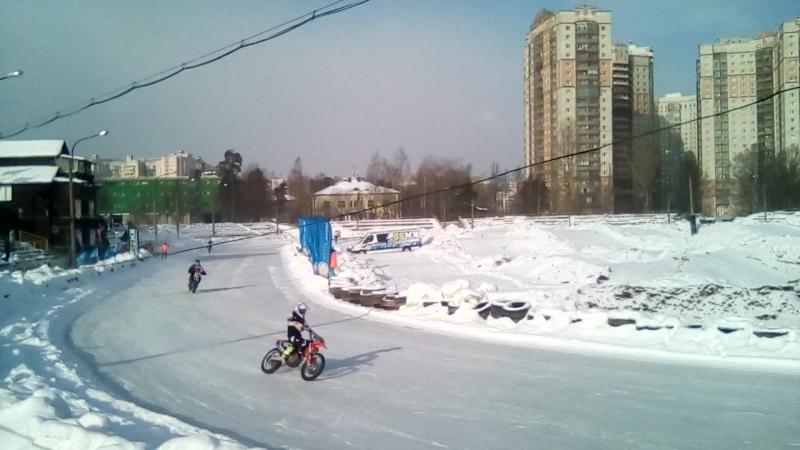 ледовая гонка 25.02.18