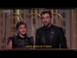7 января 2018 - Роберт на церемонии Golden Globes в Лос-Анджелесе, США