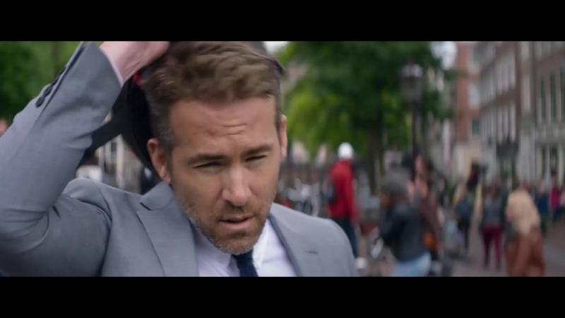 Телохранитель киллера (2017) Дублированный трейлер