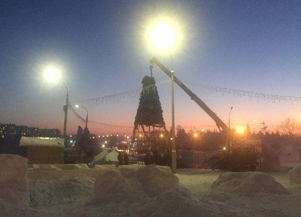 Усть-илимцы недовольны ранним сносом снежных городков