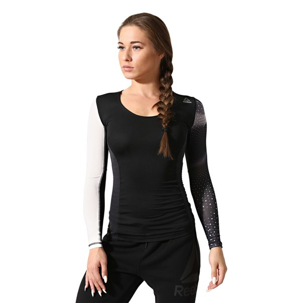 Компрессионная футболка с длинным рукавом ACTIVCHILL
