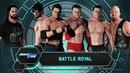 SBW SmackDown Debutants and Retuners 6 man Battle Royal match