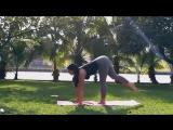 Фитнес Мотивация Гибкая девушка Fitness Motivation Flexible girl