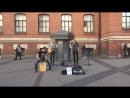 кавер Maroon 5 - This love (The Railroads, уличные музыканты, Питер)