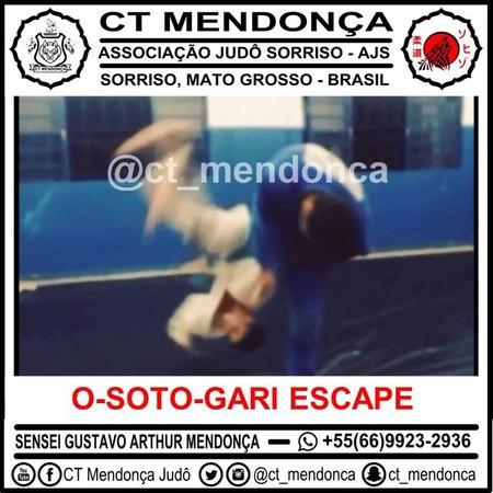 Judo - Escape of O-soto-gari