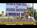 Ricardo Anaya ahora también critica a la Reforma Educativa