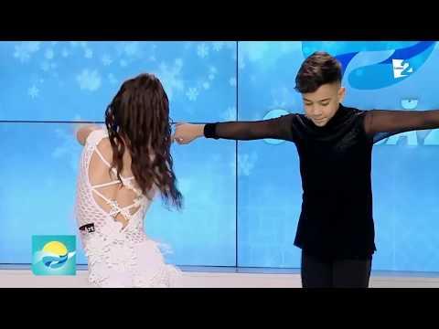 Mihai Ungureanu si Mădălina Cecoi danseaza la TV / IBN