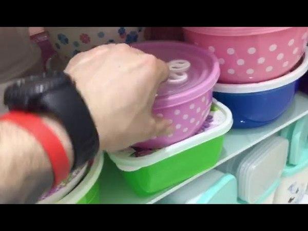 Контейнеры для еды пластмассовые 4