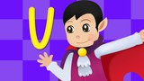 Learn The Letter V Kids Songs with Action And Lyrics Kids Songs Club's Original Song