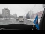 Минск - По проспекту Независимости в сторону аэропорта - 17 декабря 2017