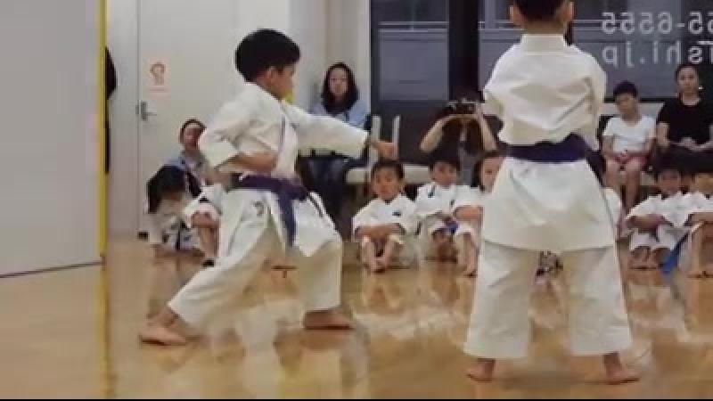 Дети 6 лет Джион и Канку Дай