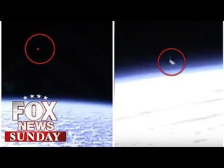 CHILLING CLAIM: 'Aliens in UFOs filmed observing the ISS are about to make CONTACT'