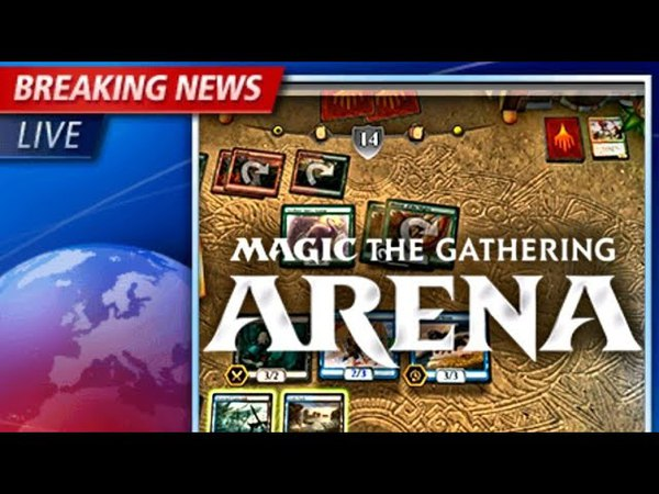 Обзор новой мтг Арена 2017/ magic the gatering arena