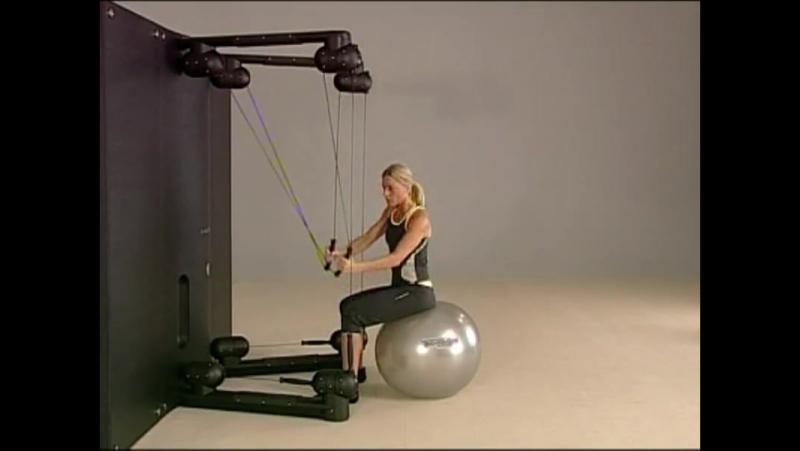 Упражнения на тренажере Kinesis на косые мышцы живота.