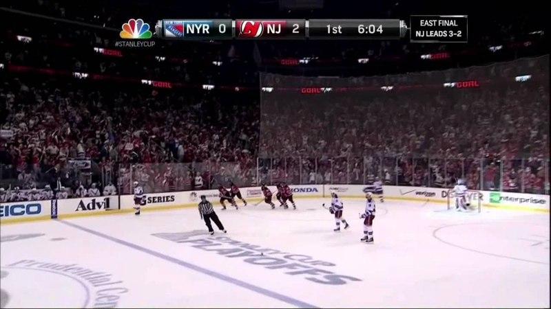 Ilya Kovalchuk PPG goal. NY Rangers vs New Jersey Devils Game 6 5/25/12 NHL Hockey