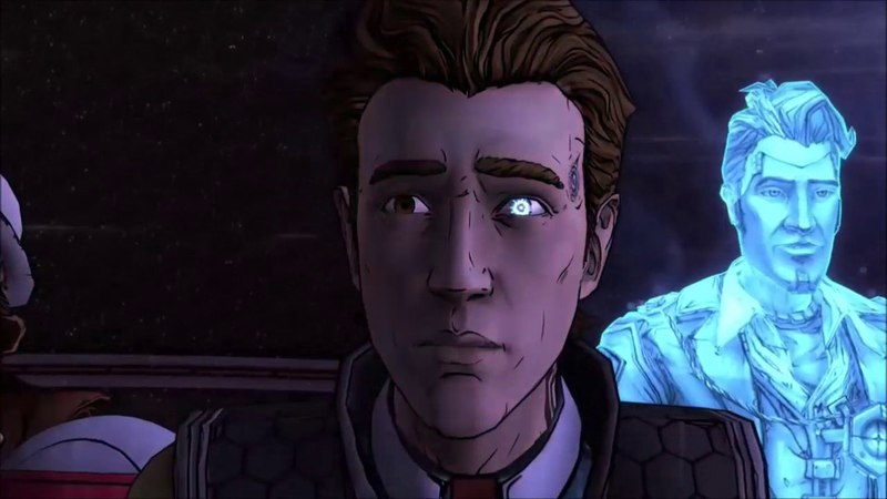 Rhys and Handsome Jack- Human