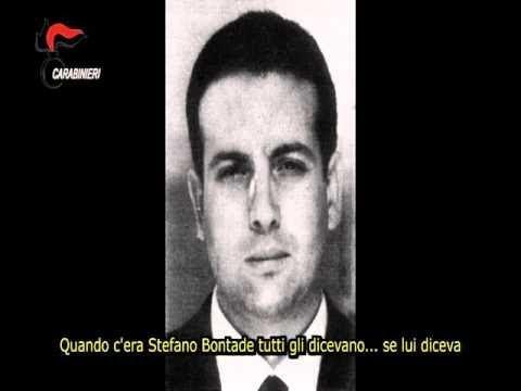 BONTADE,BUSCETTA CALO',IL BATTESIMO A ANTONIO BARDELLINO CAMORRISTA