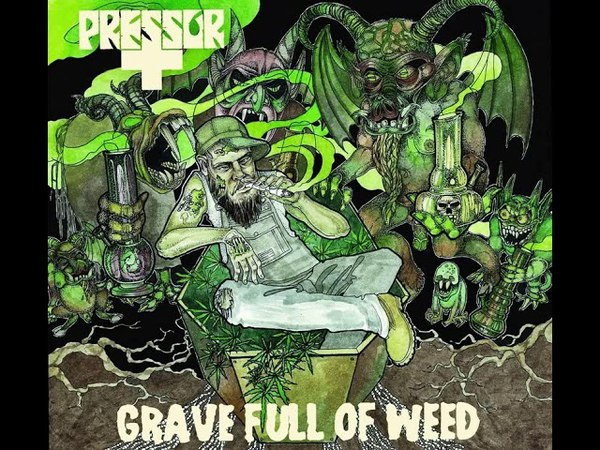 MetalRus.ru (Stoner / Doom Metal). PRESSOR — «Grave Full Of Weeds» (2012) [EP] [Full Album]