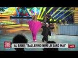 Backstage di Al Bano Carrisi a Ballando con le Stelle - Storie italiane 09042018