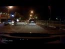 Лобовая авария в центре Одинцово из-за невнимательного водителя