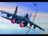 В Сети появилось видео перехвата самолета-разведчика ВМС США над Черным морем