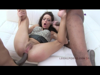 Sophie lynx - 3 on 1 bbc in skinny ass [720p, anal, gonzo, ass, hardcore, sex]