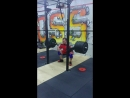 Dead stop front squat