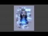 PS CS6 - Аватарка в стиле HI-TECH в Photoshop