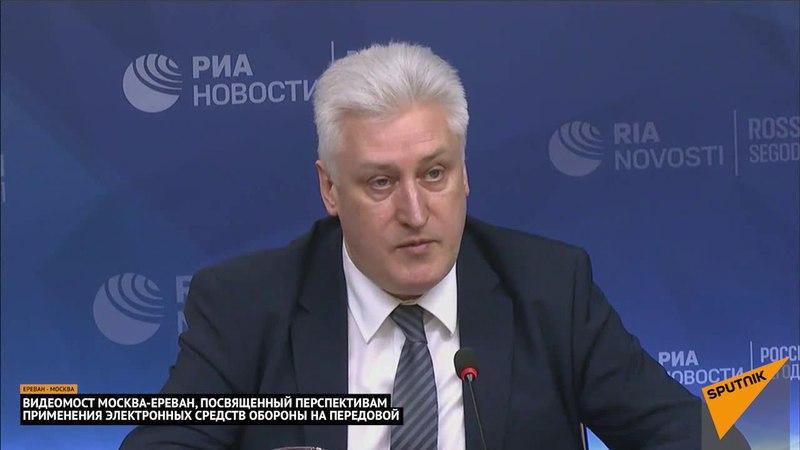 Перспективы применения электронных средств обороны на передовой - видеомост с Коротченко