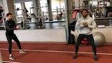 Тренировка Ману Manu traning