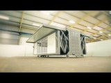 Flat Pack Homes The flat pack home that builds itself in under ten minutes Portable Building