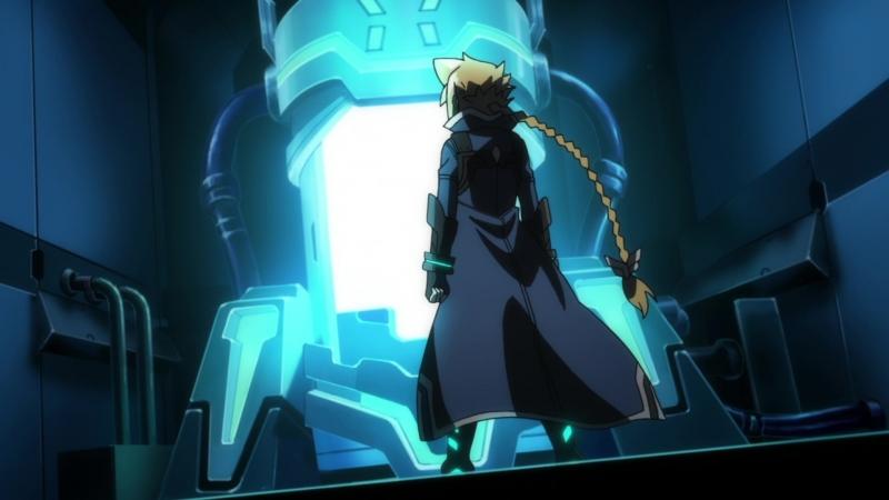Лазурный стрелок Ганвольт Armed Blue Gunvolt Jade Garison OVA